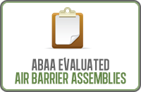 Abaa Evaluated Air Barrier Assemblies